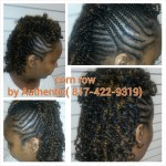 Corn Rows with Kinky Twists