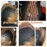 Ghanian Corn Rows
