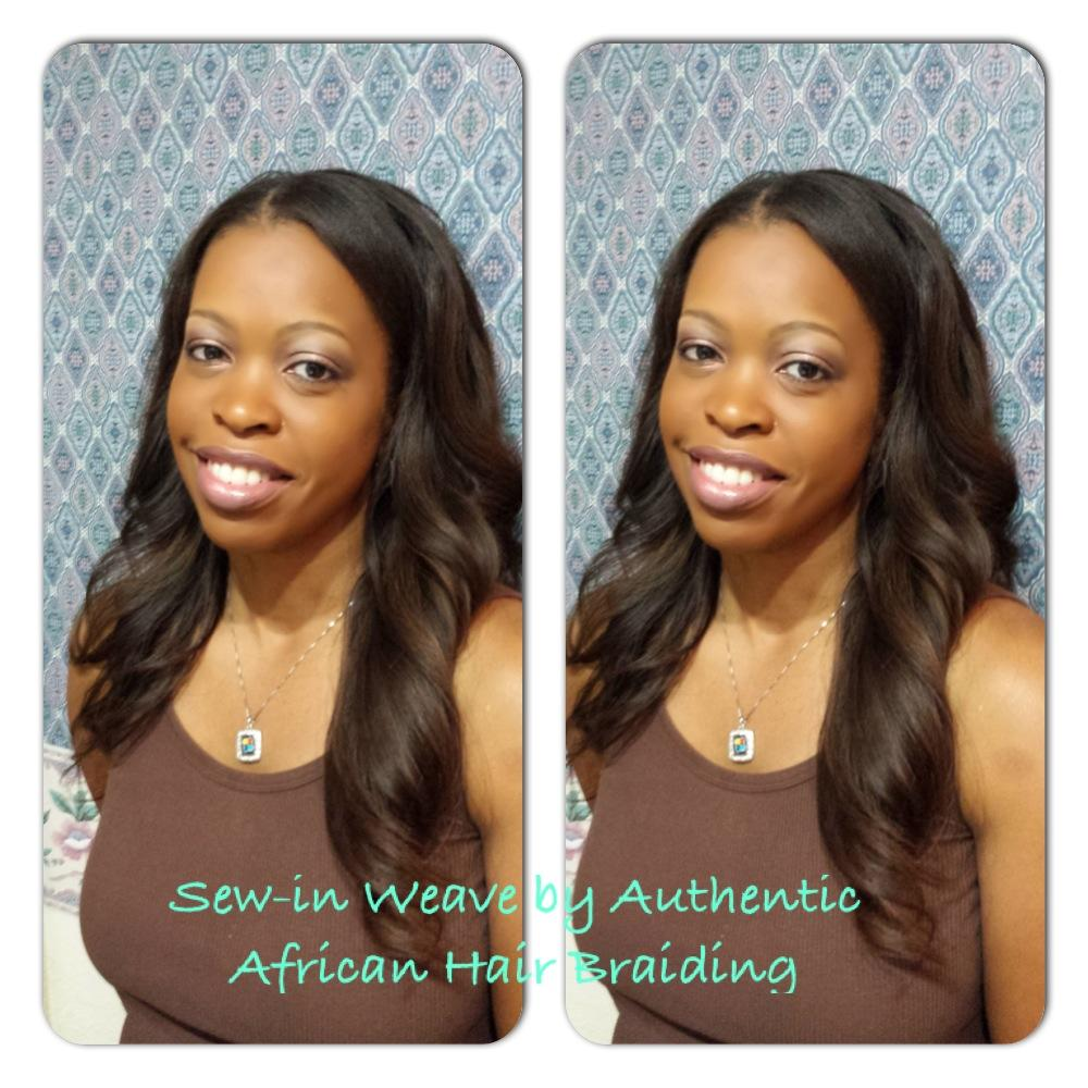 Sew In Weave Authentic African Hair Braiding